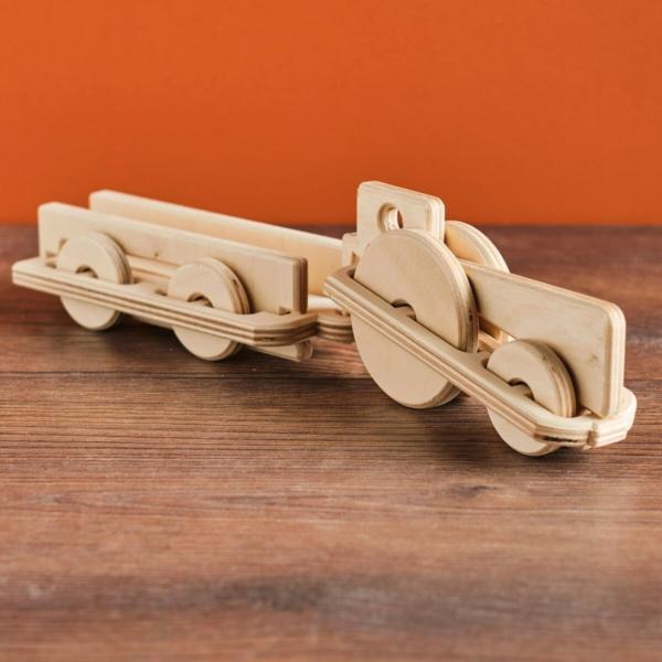 speelgoed tracktor met aanhangwagen